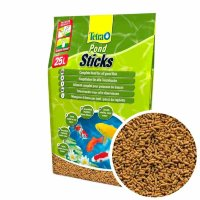 Основной корм для всех прудовых рыб Tetra Pond Sticks, мешок 25 л.